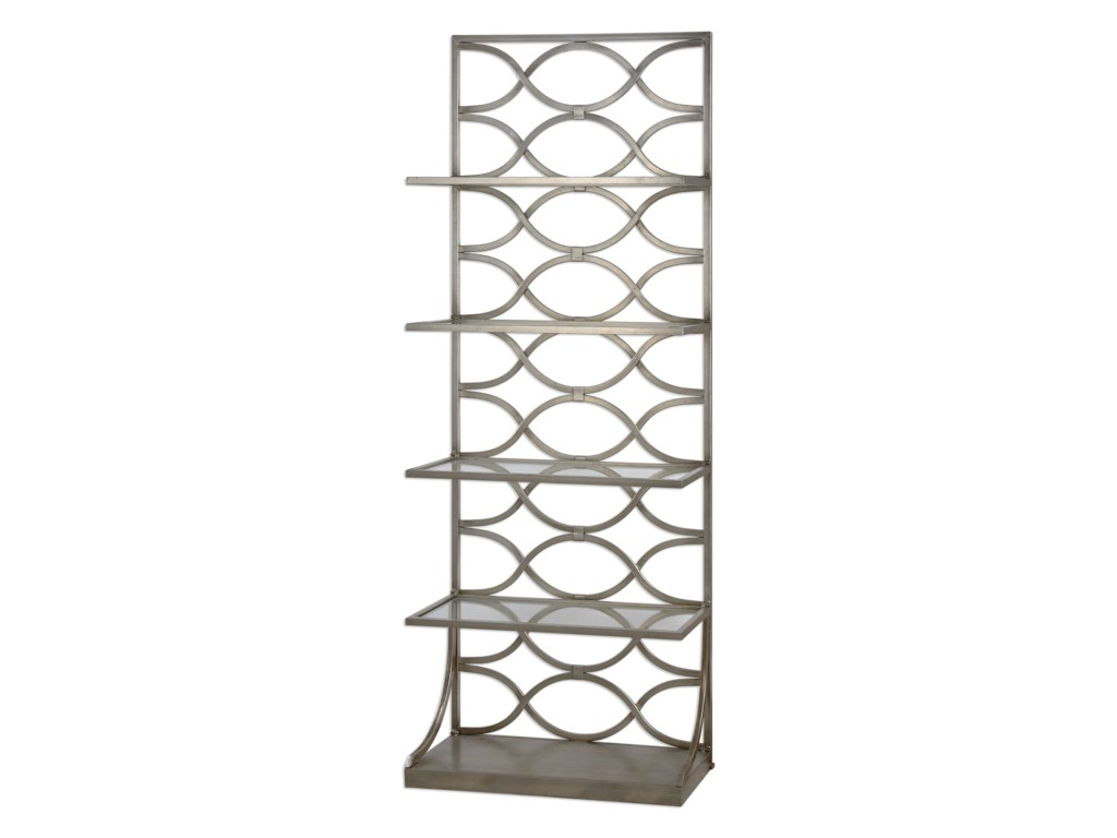 Uttermost Accent Furniture - BookcasesLashaya Silver Etagere