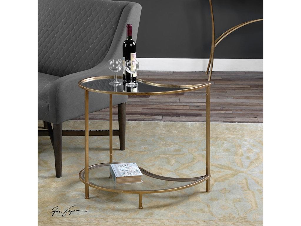 Uttermost Accent FurnitureDarcie Teardrop Bunching Side Table