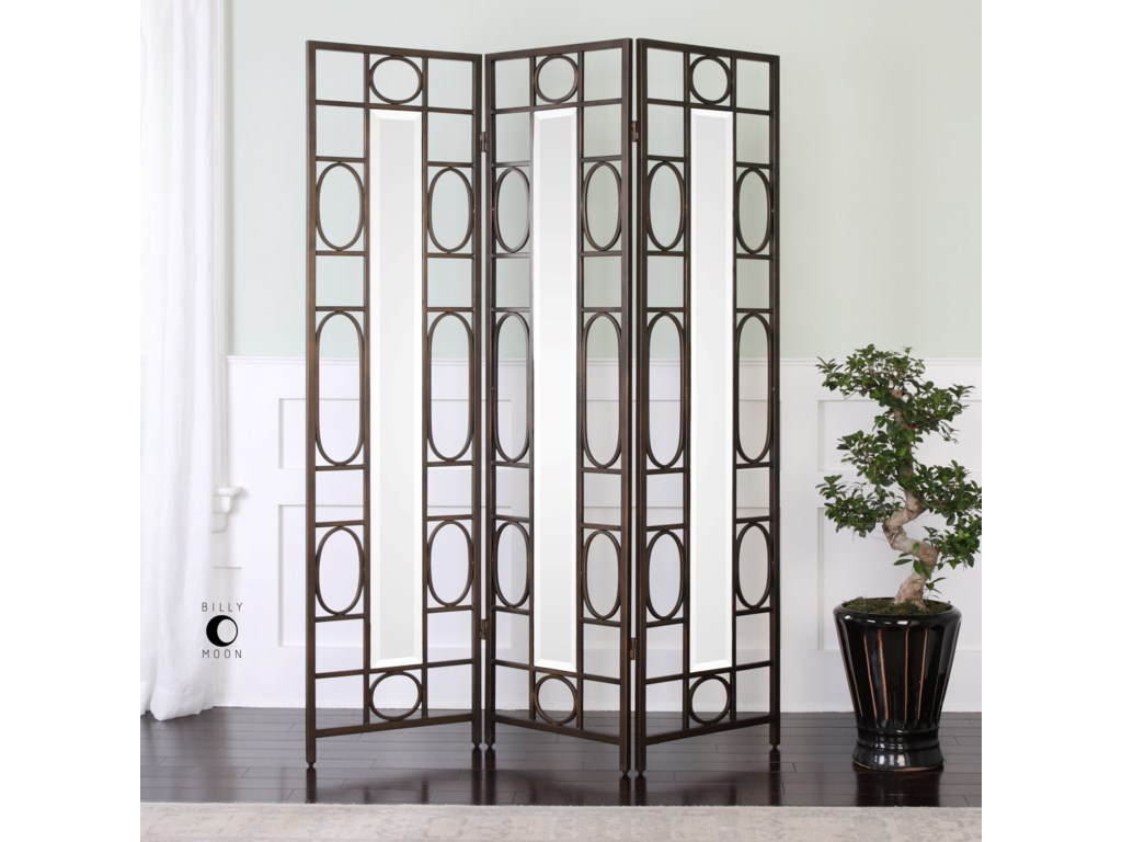 Uttermost Accent FurnitureKeagan Iron Floor Screen