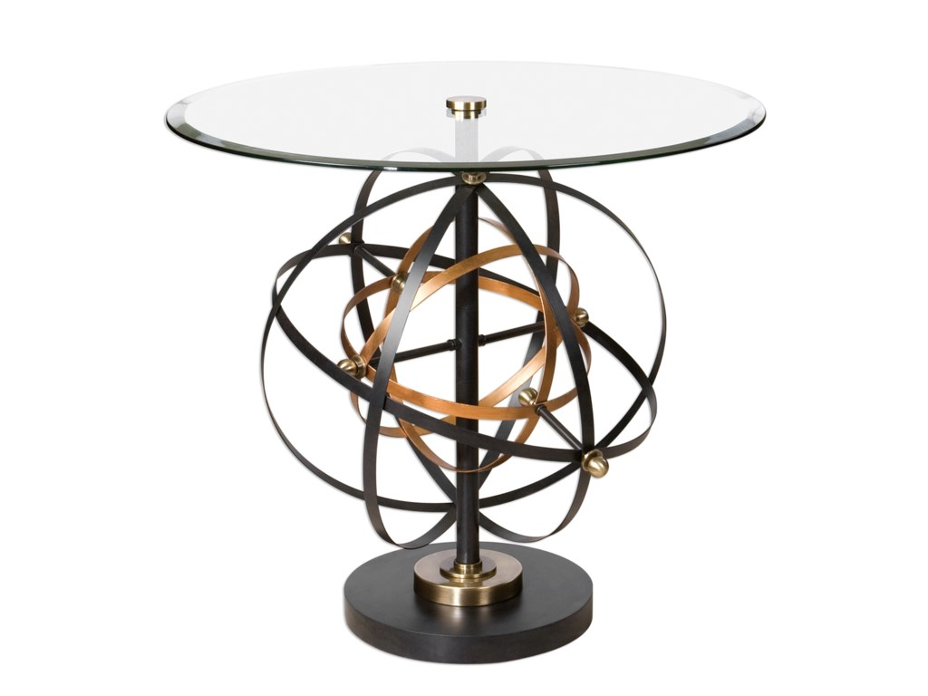Uttermost Accent FurnitureColman Sphere Accent Table