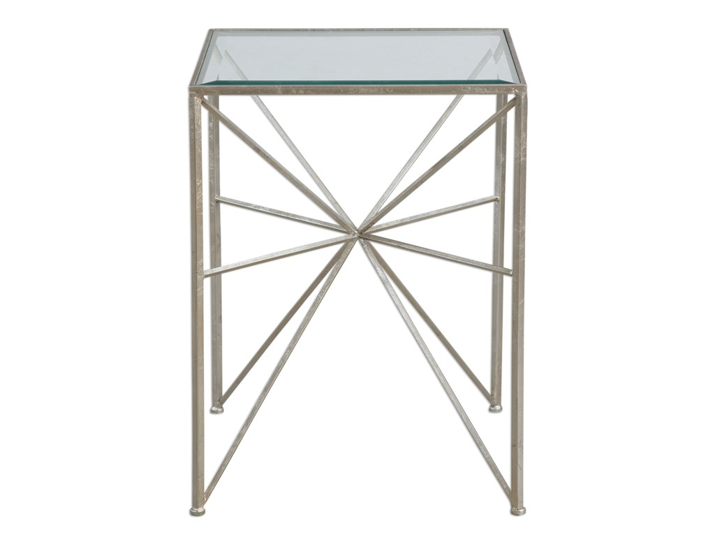 Uttermost Accent FurnitureSilvana Silver Side Table