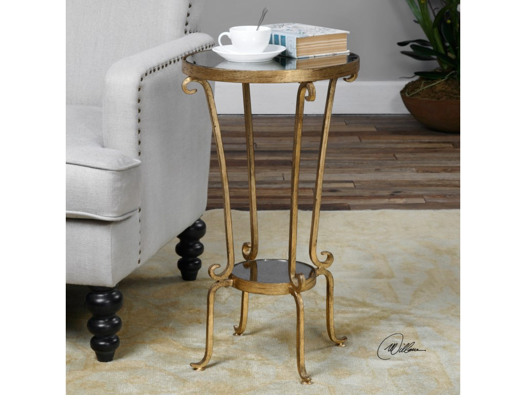 Uttermost Accent Furniture - Occasional TablesVevina Round Accent Table