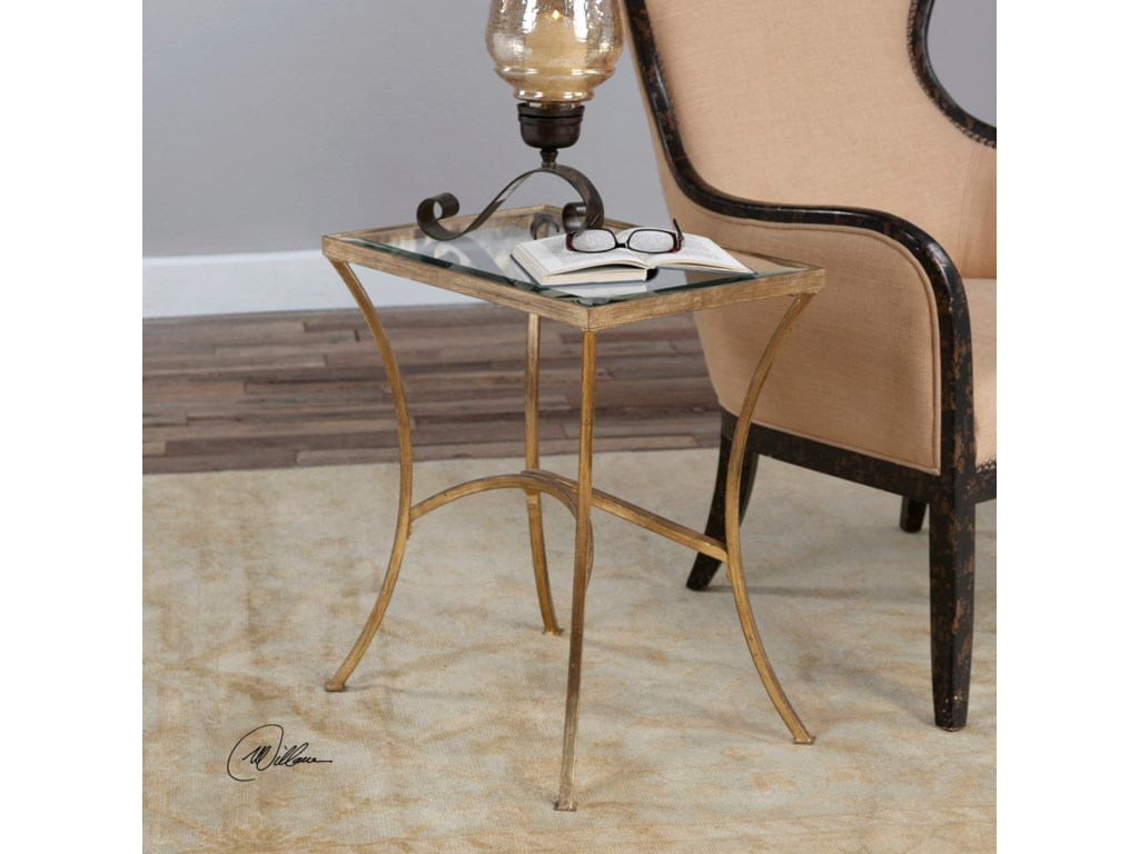 Uttermost Accent FurnitureAlayna Gold End Table