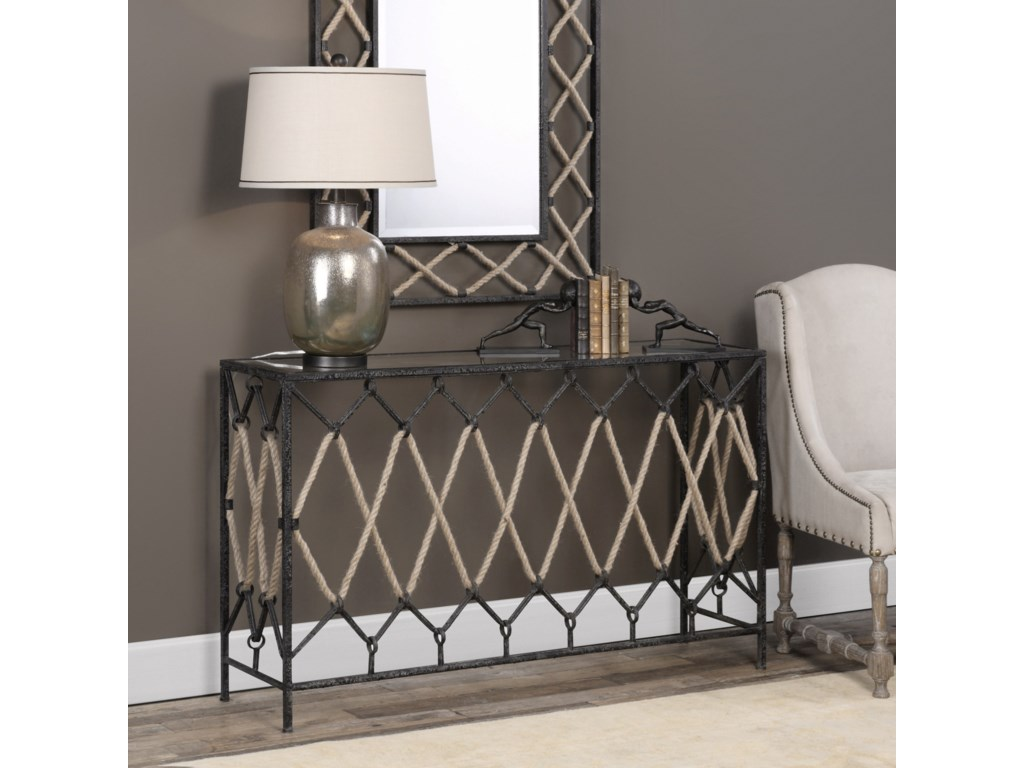 Uttermost Accent Furniture - Occasional TablesDarya Console Table