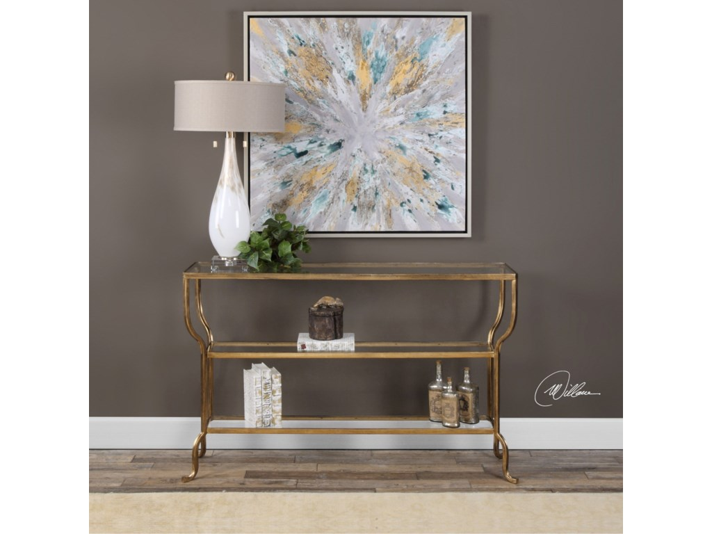 Uttermost Accent Furniture - Occasional TablesDeline Console Table