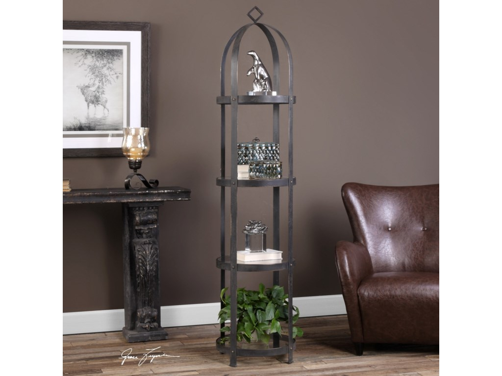 Uttermost Accent Furniture - BookcasesWelch Etagere