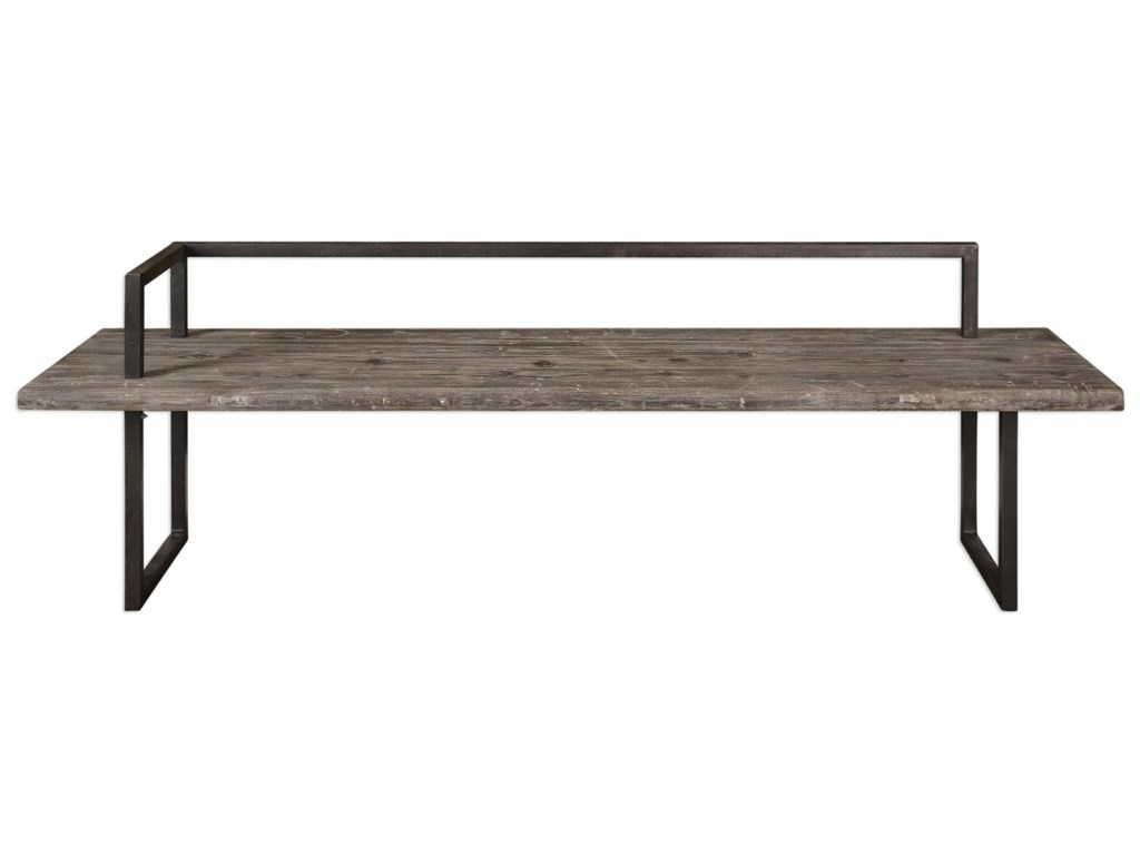 Uttermost Accent Furniture - Benches Herbert Reclaimed Wood Bench