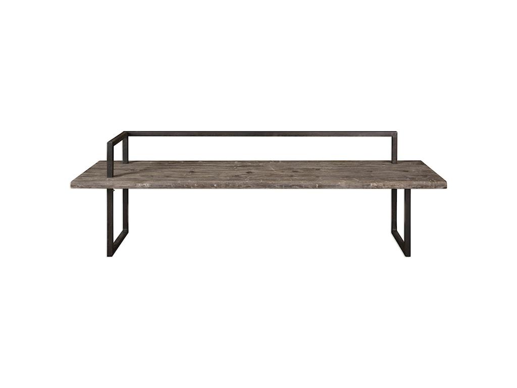 Uttermost Accent Furniture Herbert Reclaimed Wood Bench