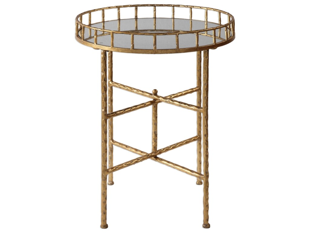Uttermost Accent FurnitureTilly Bright Gold Accent Table