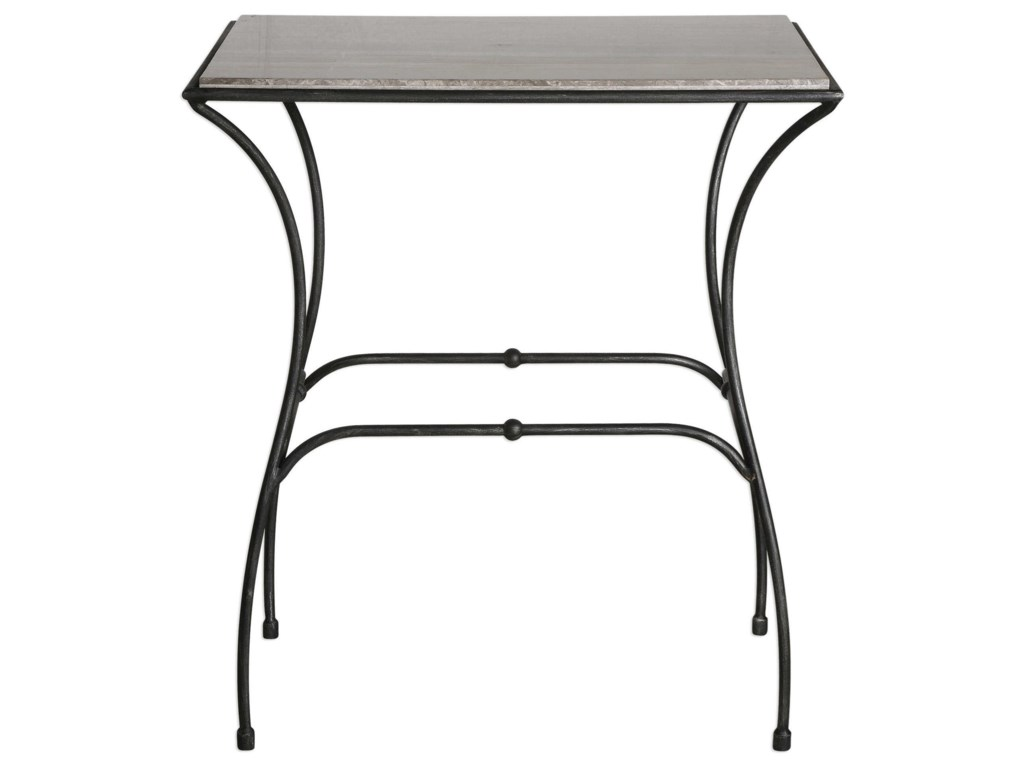 Uttermost Accent Furniture - Occasional TablesTamaya Marble Top Accent Table