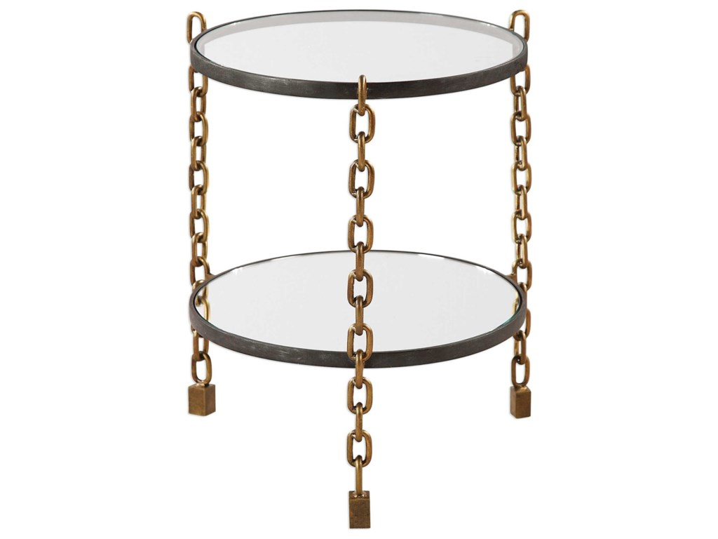Uttermost Accent FurnitureAlonna Chain Accent Table
