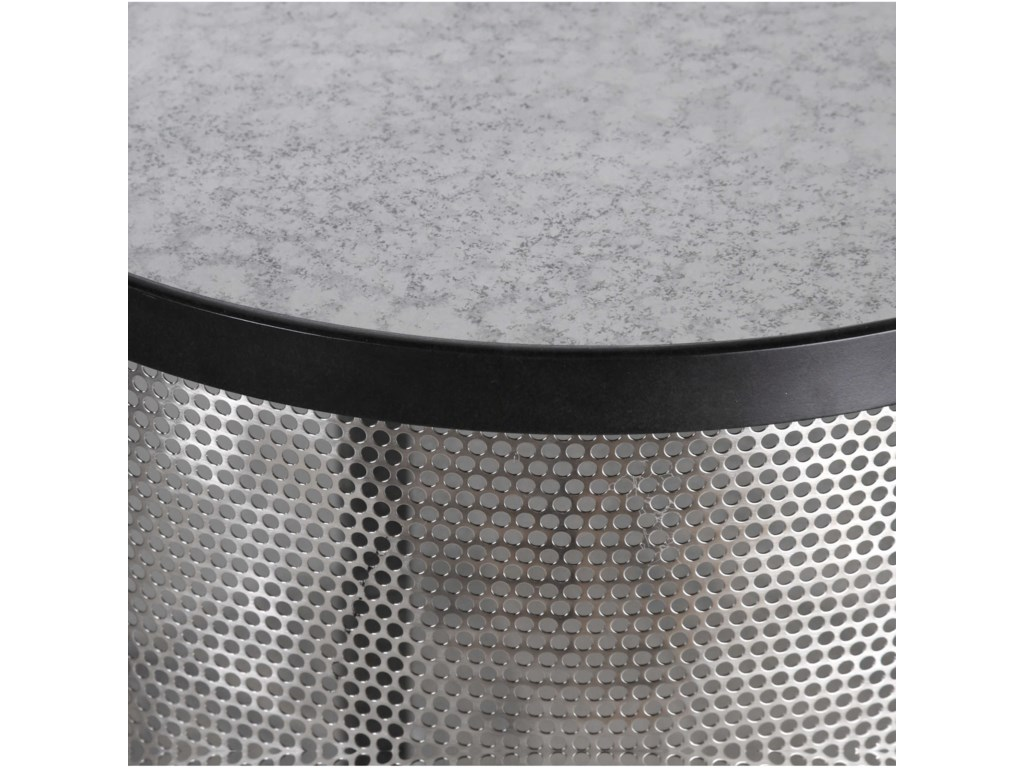 Uttermost Accent FurnitureGustav Black Iron Accent Table