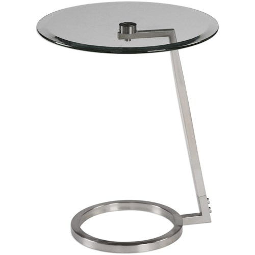 Uttermost Accent Furniture Ordino Modern Accent Table