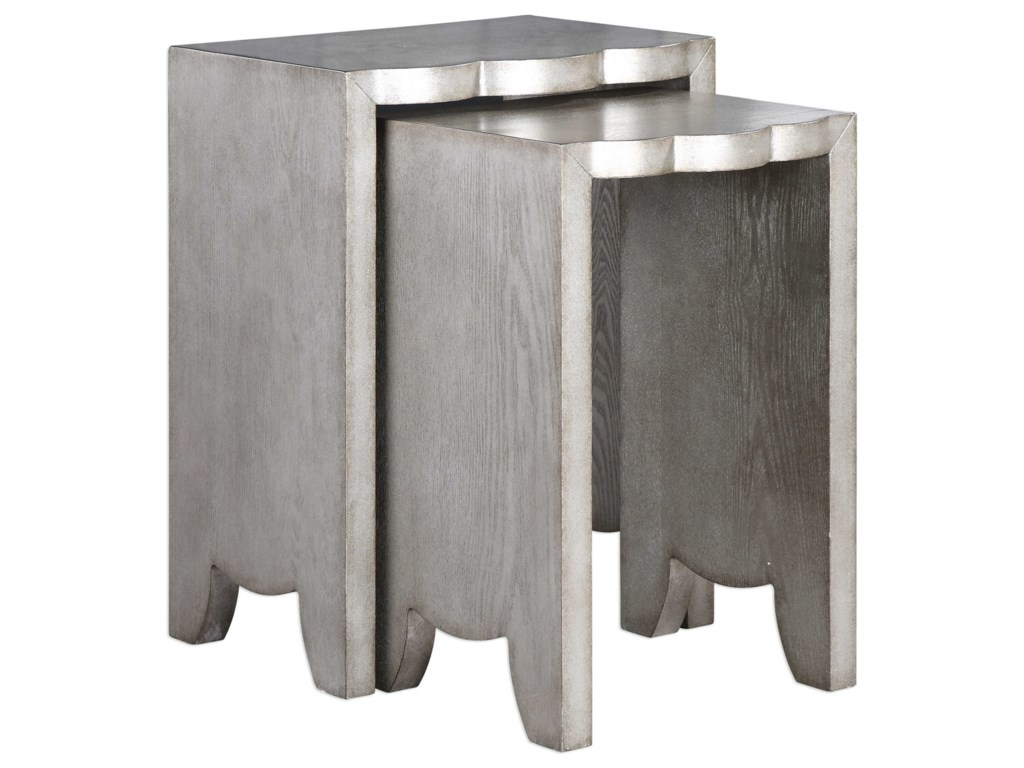 Uttermost Accent Furniture - Occasional TablesImala Natural Ash Nesting Tables (Set of 2)