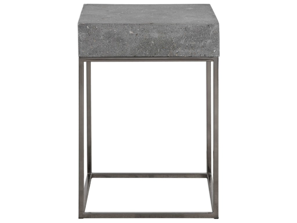Uttermost Accent FurnitureJude Concrete Accent Table