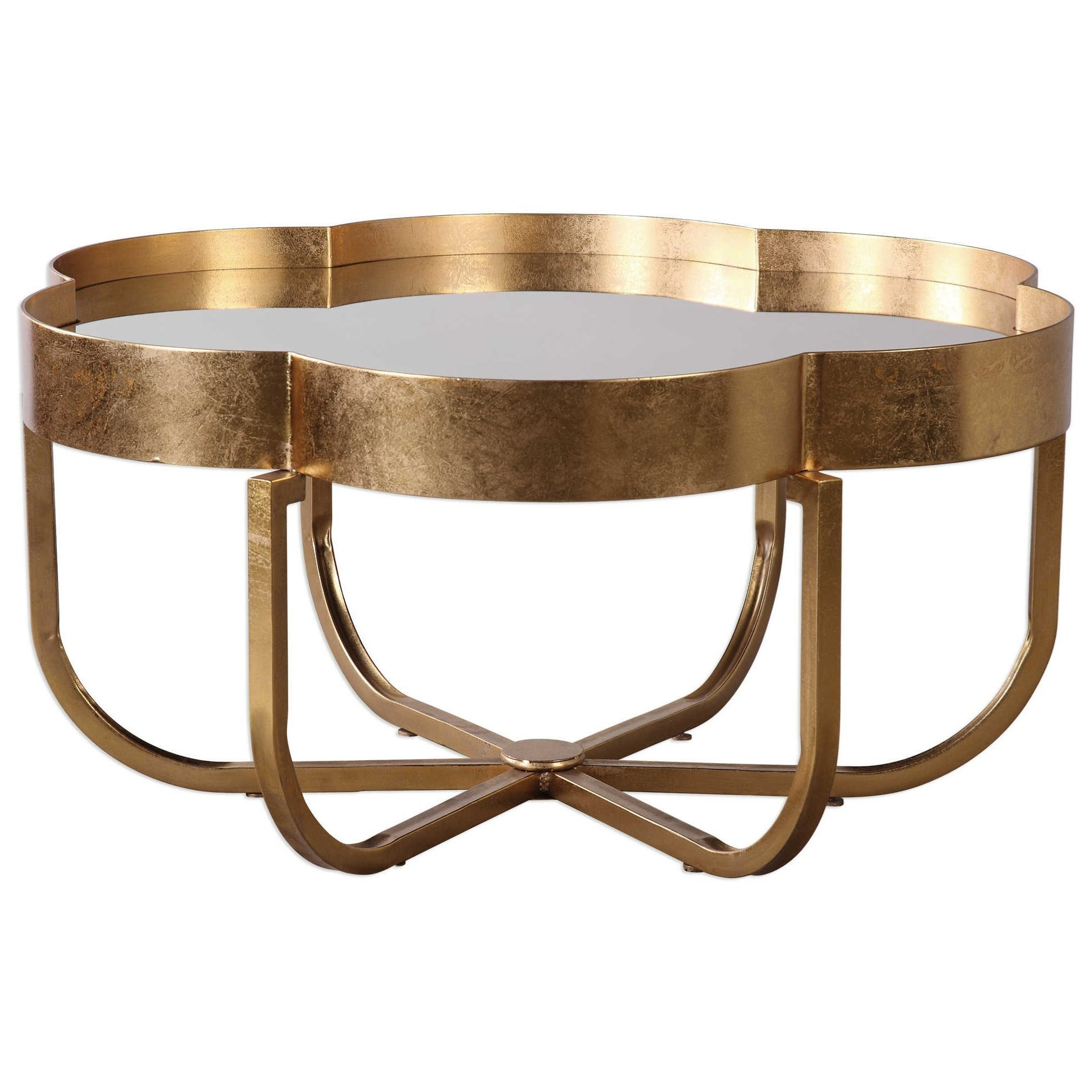 Uttermost Accent FurnitureCydney Gold Coffee Table ...