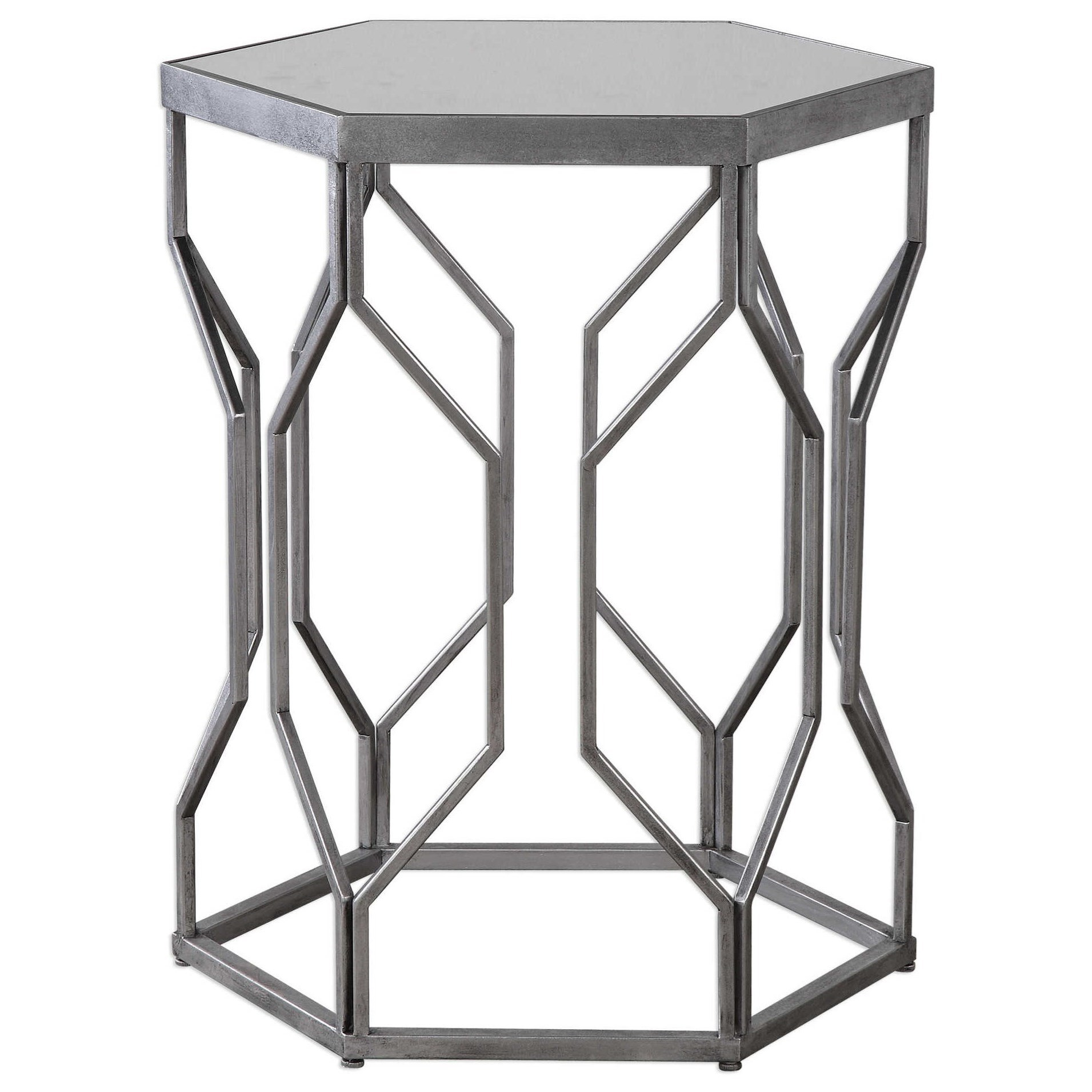 Medium image of uttermost accent furniture stellan iron accent table