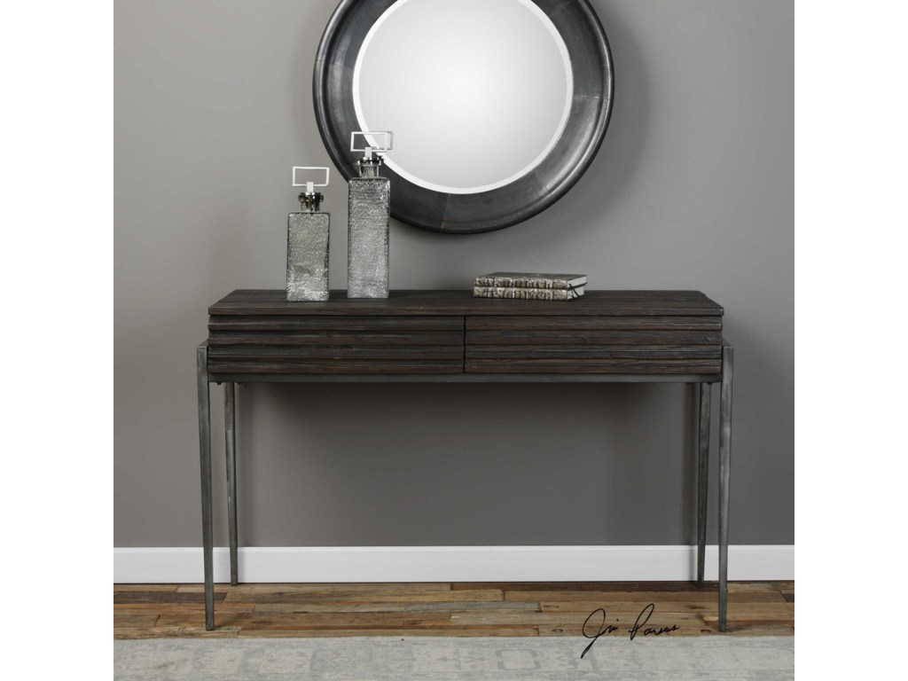 Uttermost Accent FurnitureMorrigan industrial Console Table