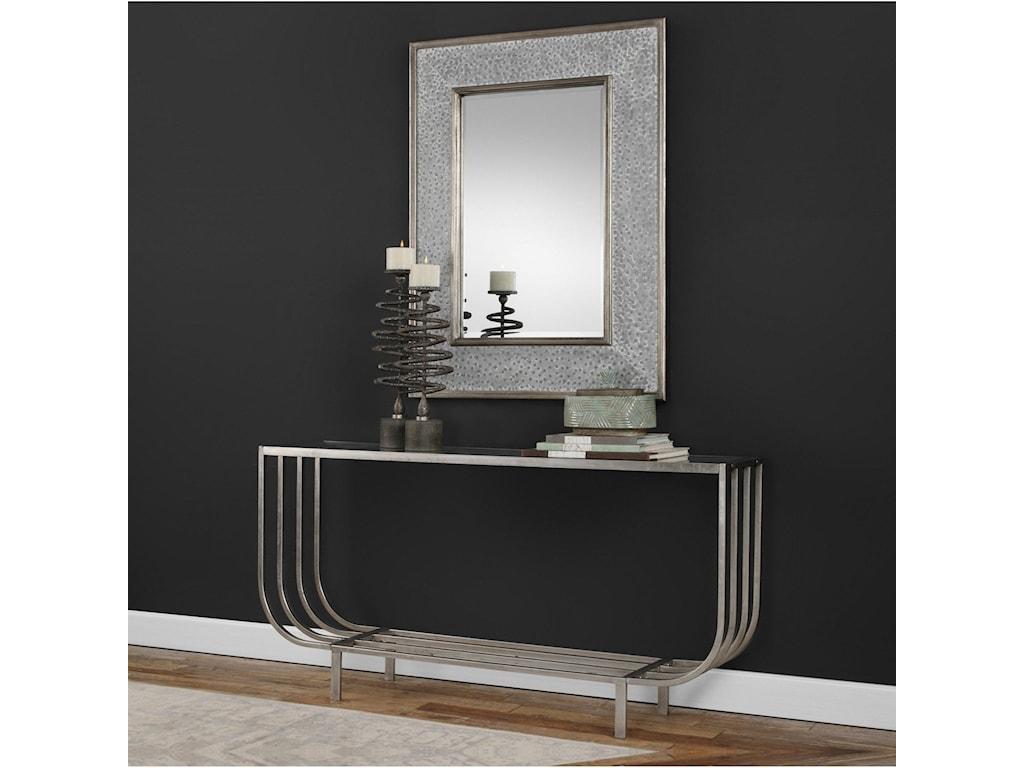 Uttermost Accent FurnitureArlice Bright Silver Console Table
