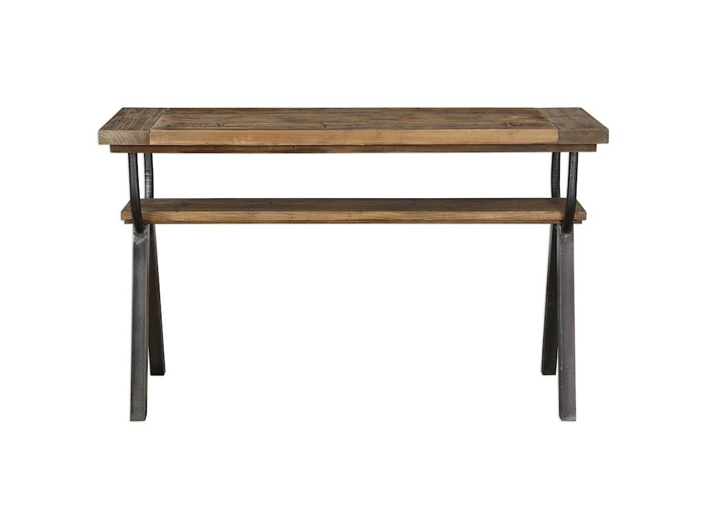 Uttermost Accent FurnitureDomini Industrial Console Table