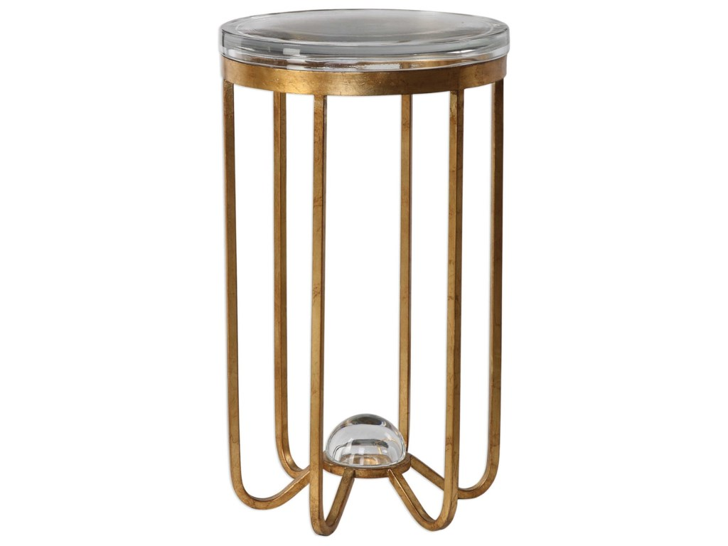 Uttermost Accent FurnitureAllura Gold Accent Table
