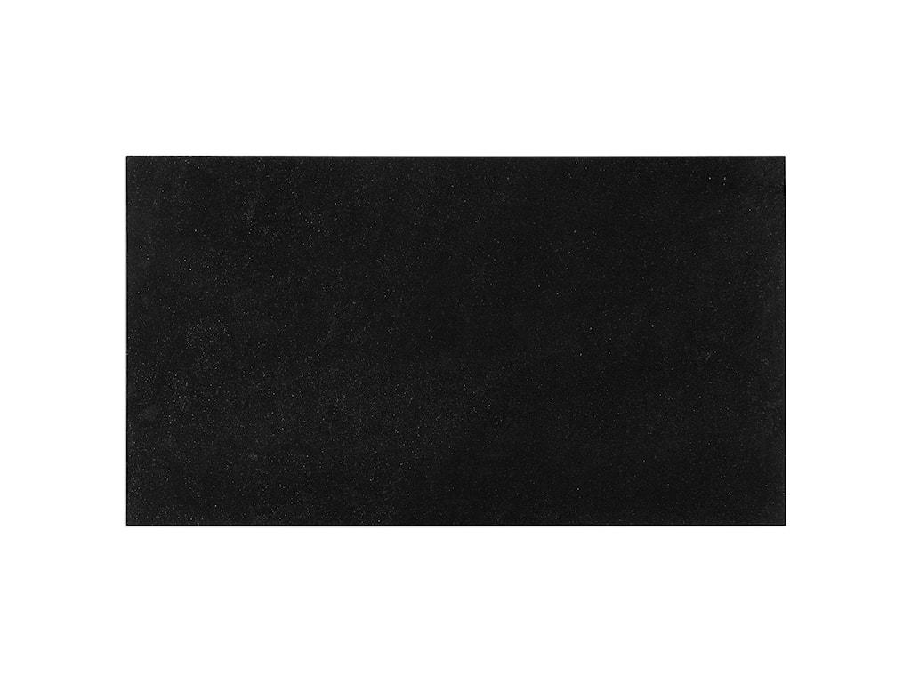 Uttermost Accent FurnitureAgnes Black Granite Coffee Table