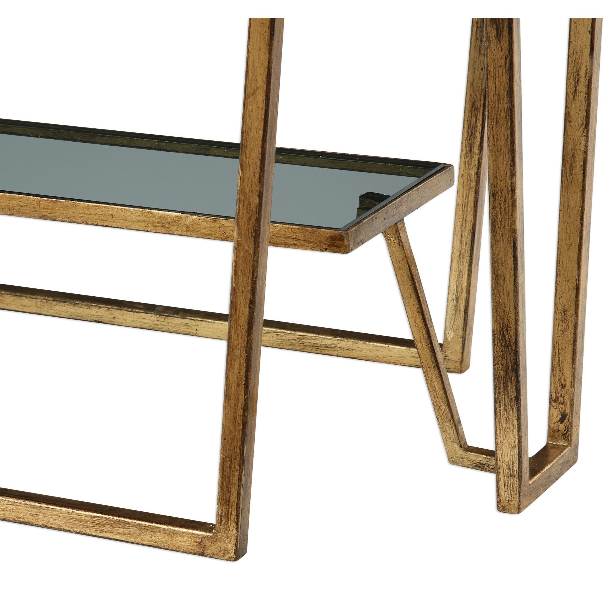 ... Uttermost Accent FurnitureAgnes Black Granite Console Table ...