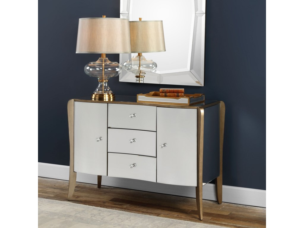 Uttermost Accent FurnitureKiley Mirrored Buffet