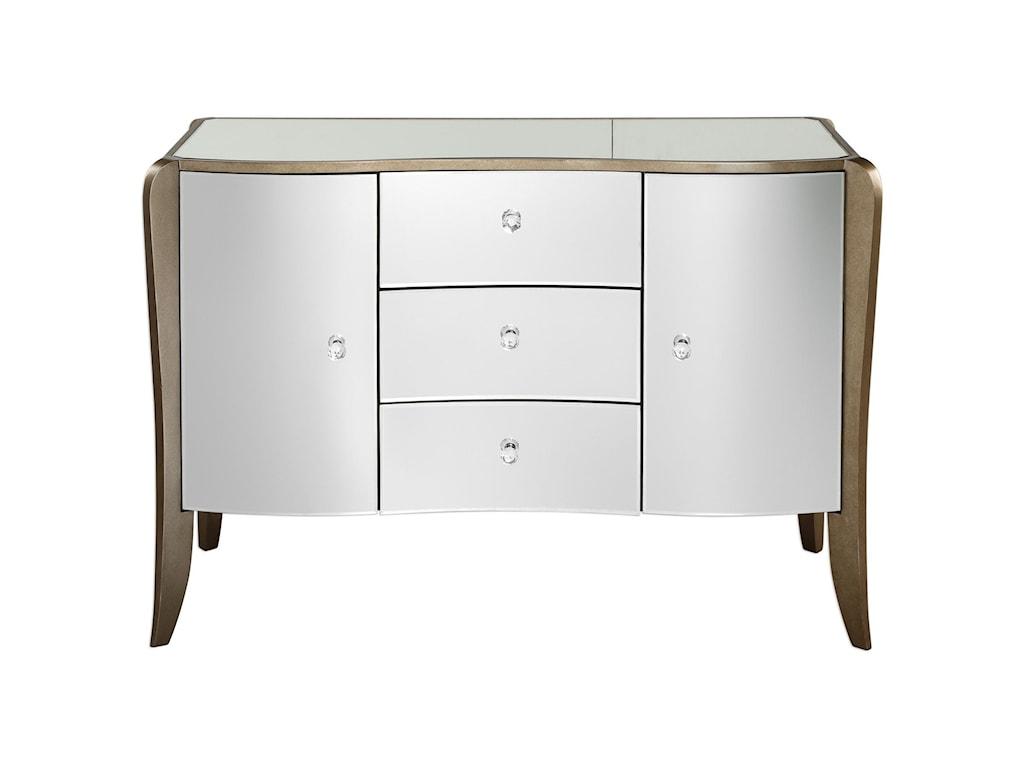Uttermost Accent FurnitureKiley Mirrored Buffet