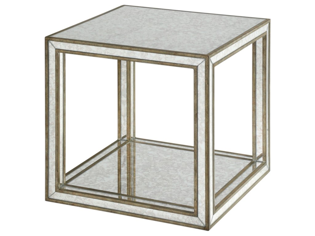 Uttermost Accent FurnitureJulie Mirrored Accent Table