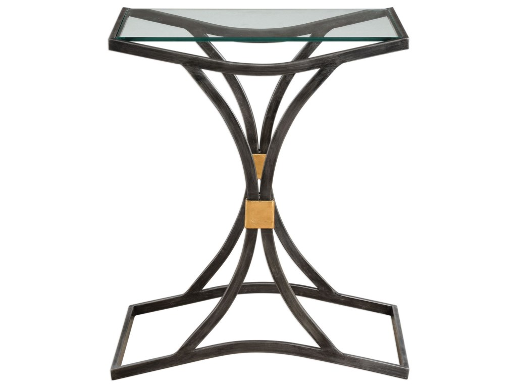 Uttermost Accent Furniture - Occasional TablesVerino Arched Iron Accent Table