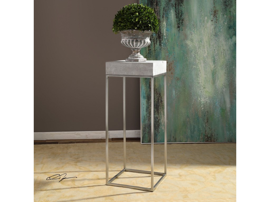 Uttermost Accent FurnitureJude Industrial Modern Plant Stand