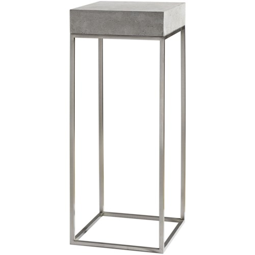 Uttermost Accent Furniture Jude Industrial Modern Plant Stand
