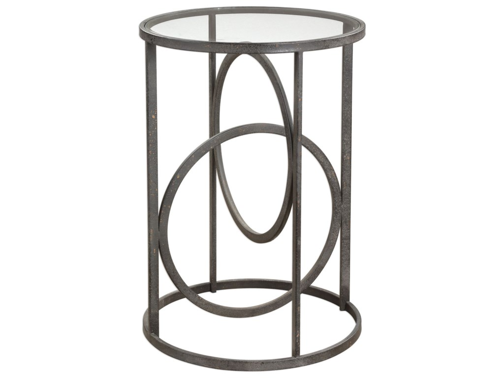 Uttermost Accent Furniture - Occasional TablesLucien Iron Accent Table