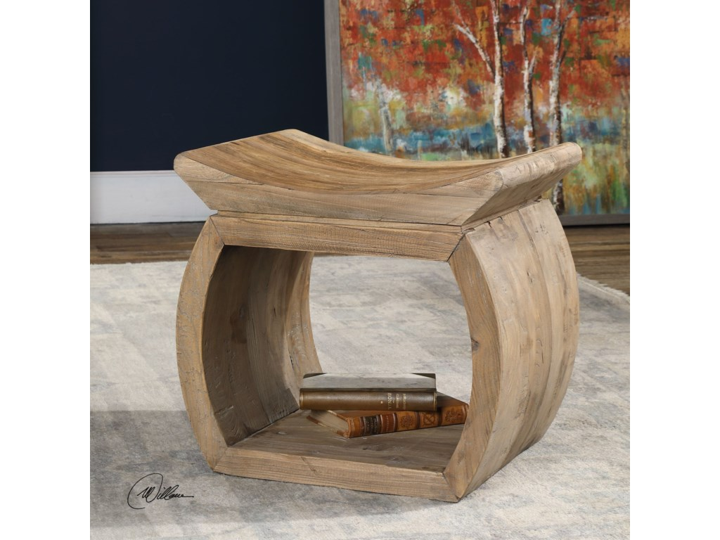 Uttermost Accent Furniture - StoolsConnor Elm Accent Stool