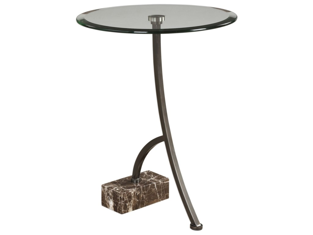 Uttermost Accent FurnitureLevi Round Bronze Accent Table