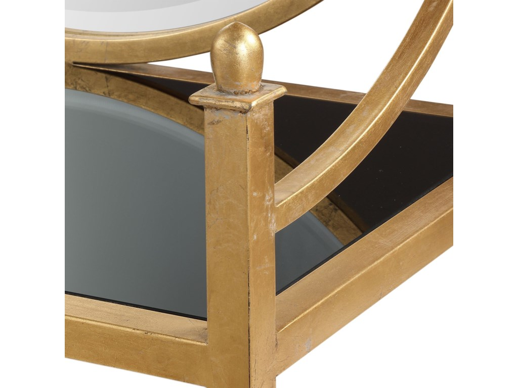 Uttermost Accent FurniturePresley Gold Bar Console