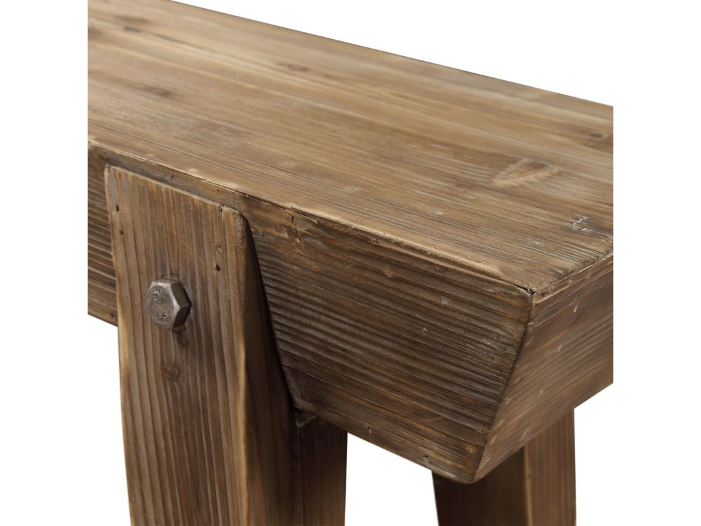 Uttermost Accent FurnitureHayes Wooden Console Table