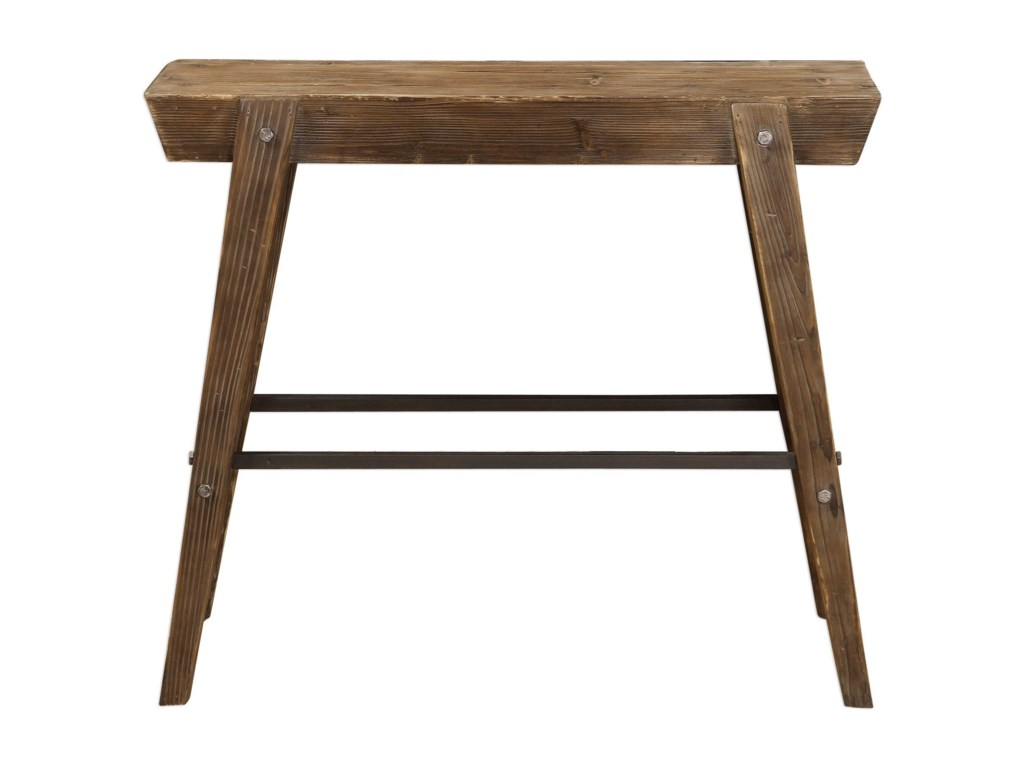 Uttermost Accent Furniture - Occasional TablesHayes Wooden Console Table