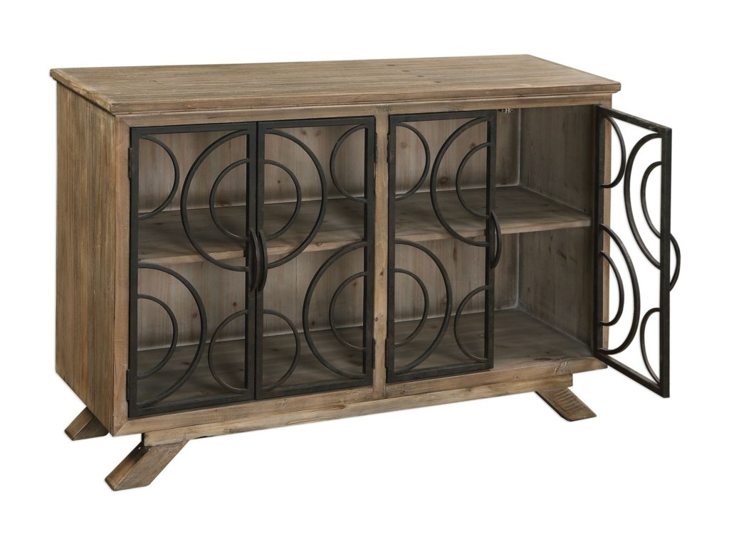 Uttermost Accent Furniture - ChestsTatum Rustic Accent Cabinet