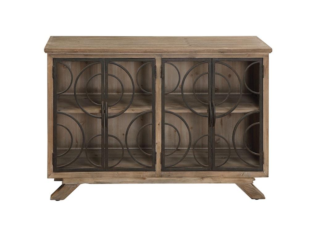 Uttermost Accent FurnitureTatum Rustic Accent Cabinet