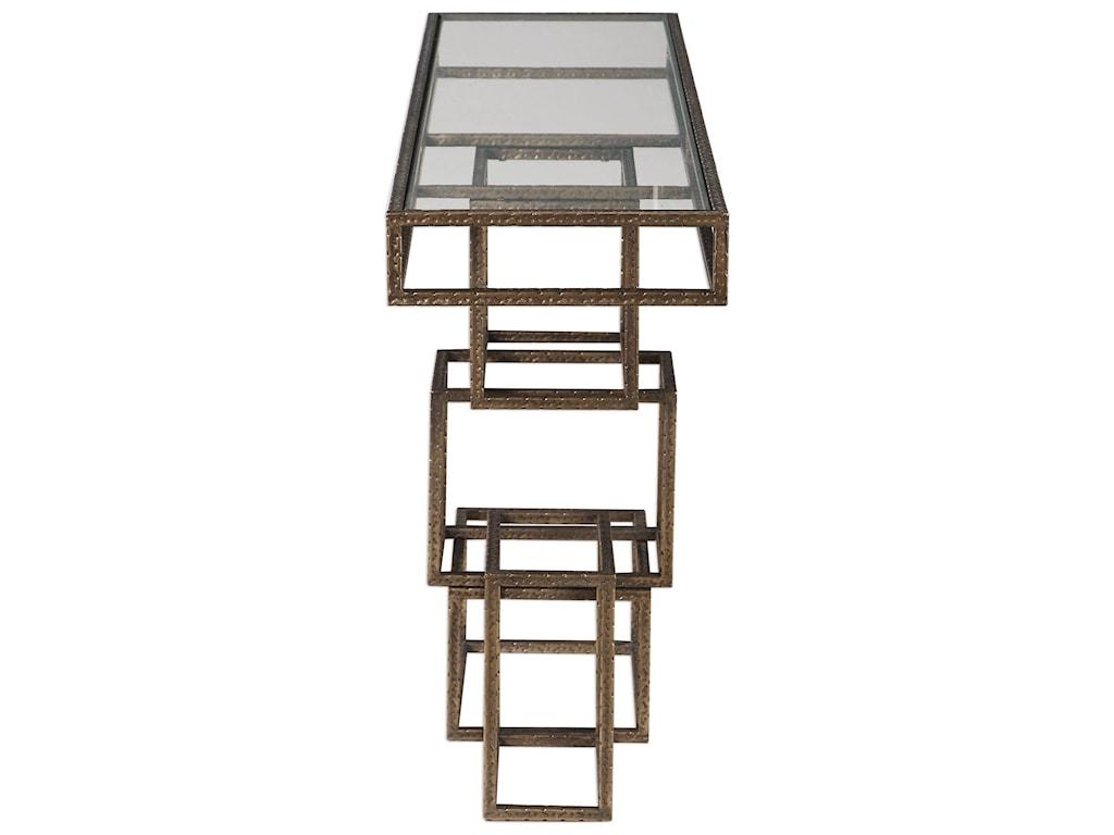 Uttermost Accent FurnitureRuslan Bronze Console Table