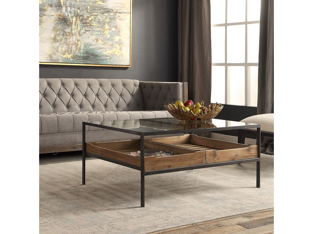 Uttermost Accent Furniture - Occasional TablesSilas Coffee Table