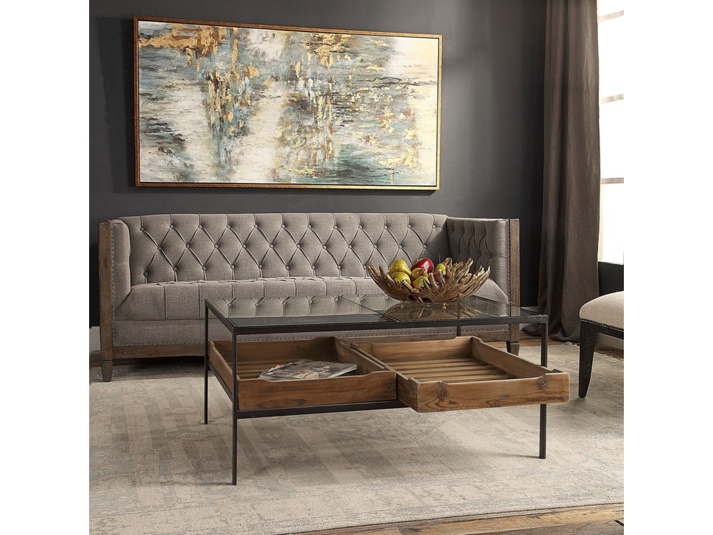 Uttermost Accent FurnitureSilas Coffee Table