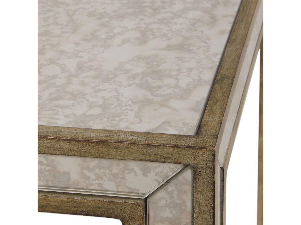 Uttermost Accent FurnitureJulie Mirrored End Table