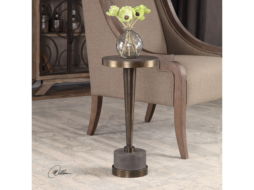Uttermost Accent Furniture - Occasional TablesMasika Bronze Accent Table