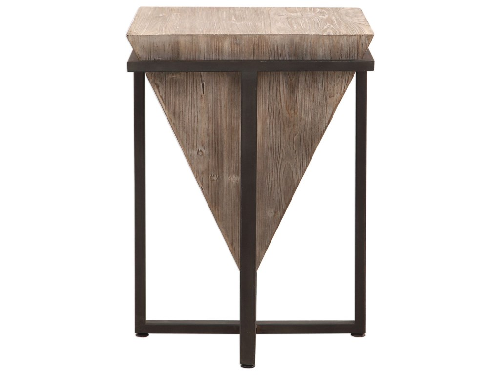 Uttermost Accent Furniture - Occasional TablesBertrand Wood Accent Table