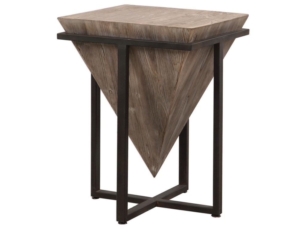Uttermost Accent FurnitureBertrand Wood Accent Table