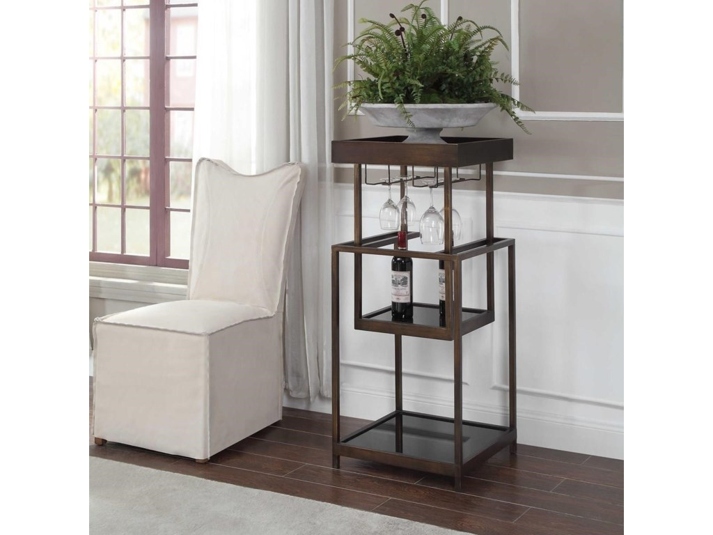 Uttermost Accent FurnitureAdia Mid-Century Bar Stand