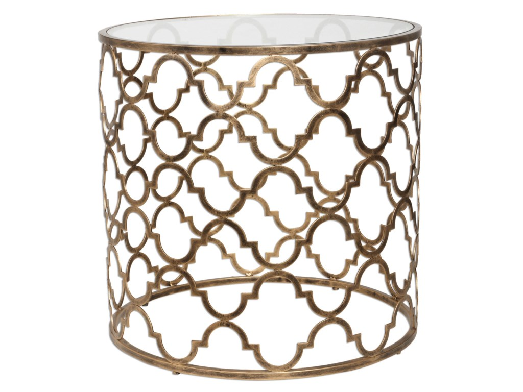 Uttermost Accent Furniture - Occasional TablesQuatrefoil End Table